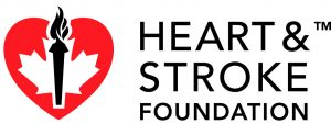 Logo heart stroke fundation